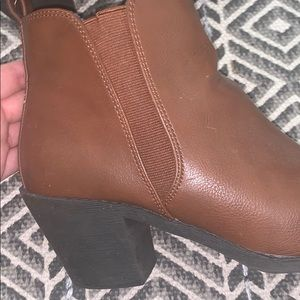 Forever 21 heeled booties